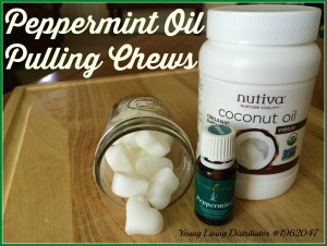 Peppermint Oil Pulling Chews 1